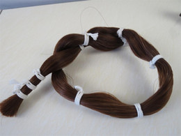 violin bow hair Australia - 1 bunch of black ponytail