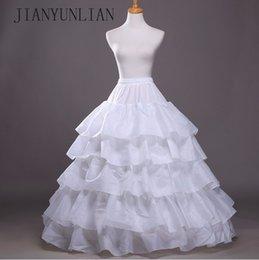 $enCountryForm.capitalKeyWord Australia - Hot Sale Petticoat Underskirt Crinoline High Quality Petticoat For Ball Gown Wedding Dress