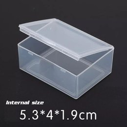 $enCountryForm.capitalKeyWord Australia - (Internal size 5.3*4*1.9CM) Jewelry Clear Storage Case Box Craft Makeup Cosmetic Accessory Beads Candy Organizer Organizador Container