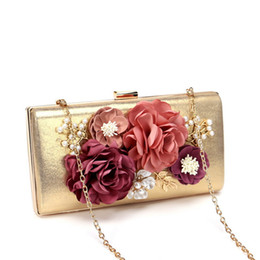 $enCountryForm.capitalKeyWord NZ - Designer- luxury bag desinger for for wedding banquet party porm evening bags high quality tote handbag Clutch bag decorated with flower
