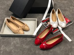 Pregnant Spring Australia - Shallow mouth Ballet Pregnant shoes flat heel Soft bottom Weave shoes casual work shoes Spring and summer new style mx18121440