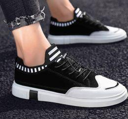 $enCountryForm.capitalKeyWord Australia - 2019 classic design high-end monogram leather men's sneaker sneaker casual shoe euro 38-44 belt box