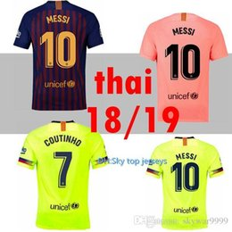 2018 2019 FC Barcelona MESSI Soccer Jersey WOMEN third away pink man kits  18 19 Suárez DEMBELE COUTINHO football shirt top thai quality 5b913228f