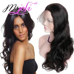 Cheap body wave wigs online shopping - Brazilian Body Wave Human Hair Distributors Cheap Virgin Brazilian Human Hair Full Lace Wigs For Black Woman