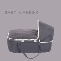 Hochwertiger Komfort weicher Baumwollstoff Baby Reisebett Kinderbett Tragbare Wiege Auto Neugeborenen Korb Schlaf Wiege Bett
