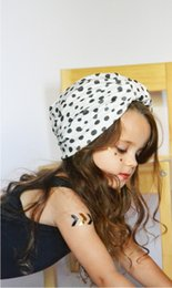 $enCountryForm.capitalKeyWord NZ - baby hats Dot knotted headscarf Bohemian Wind Children's Indian Cap Hair accessories for children New Spring and Summer Style of 2019