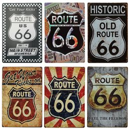 $enCountryForm.capitalKeyWord UK - Vintage 66 Route Group License Plate Metal Plate Car Number Tin Signs Bar Pub Cafe Home Decor MOTO Metal Sign Garage Painting Plaques Signs