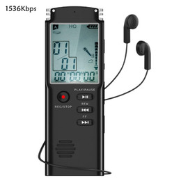 $enCountryForm.capitalKeyWord NZ - Digital Voice Activated Recorder, 8GB Sound Audio Recorder Dictaphone Lectures Meetings, USB, Rechargeable (Black)