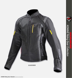 $enCountryForm.capitalKeyWord Australia - KOMINE JK095 breathable motorcycle jacket men mesh racing ride high-performance drop resistance clothing motocross jacket