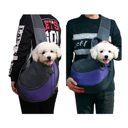 Bags Carry Puppies Australia - Fashion Dog Carriers Bags Pet Cute Cat Puppy Dogs Saddlebags Backpack Bag Carrying Sling Outdoor Accessories Supplies Products