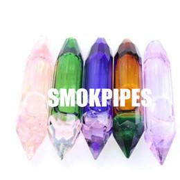 $enCountryForm.capitalKeyWord Australia - New Colorful Pyrex Glass Bong Smoking Pipe Crystal Pebble Stone Shape Innovative Design Portable Luxury Decoration High Quality Hot Cake