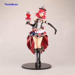 Discount dolls sexy for man - Love Live! Maki Nishikino Figure School Idol Maid Ver. PVC Sexy Toys For Man Doll Anime Figure Girl Gift Children Model