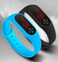 $enCountryForm.capitalKeyWord Australia - Simple Digital Men Sports Watches Smart LED Watch Electronic Clock Candy Color Silicone WristWatch reloj mujer zegarek damski