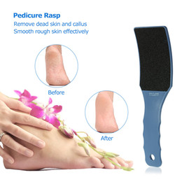 $enCountryForm.capitalKeyWord Australia - Pedicure Foot Rasp Hard Dead Skin Callus Remover Professional Feet Files Grinding Remove Tools Double Side