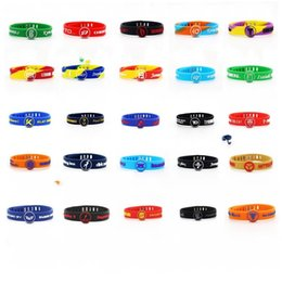 Gel bracelets online shopping - Silica Gel Bracelet Adjustable Wrist Strap Personality Wristband Anti Wear Adults Gift Outdoor Activities Colors Mix lbf1