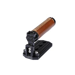 Handle Grip Camera Dslr Australia - CAMVATE Handle Grip Top Cheese Plate for BMD (Leather)