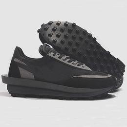 $enCountryForm.capitalKeyWord Australia - 2019 New UNDERCOVER x Sacai LDV Waffle blue green shoes For men women fashion casual shoes black white Camping casual shoes