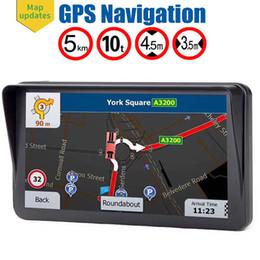 $enCountryForm.capitalKeyWord Australia - HD Anti-glare 9 Inch Truck GPS Navigator Auto Navigation With Sunshade Shield 8GB Maps FM Bluetooth AVIN Support Multiple Vehicles