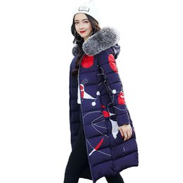 Womens Parkas UK - Both Two Sides Can Wear Winter Jacket Women With Fur Collar Hooded Womens Coat Coats Long Parka 2019 High Quality Female Parkas