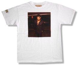 Ingrosso Drake Photo Portrait Image Maglietta bianca Nuovo Hip Hop Rap ufficiale