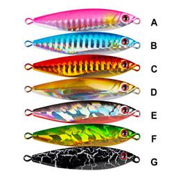 Fishing Led Jig Lure Australia - 1pc Lead Fish 14g-22g-30g Jig Metal Lure Fishing Lure 7 Color Fishing Bait 5.6cm-6cm-7.2cm Fishing Tackle Lead Baits 2019 Top