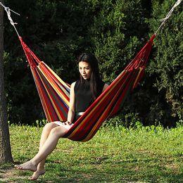 $enCountryForm.capitalKeyWord Australia - 2 People Outdoor Canvas Camping Hammock Bend Wood Stick Steady Hamak Swing Canvas Stripe Hang Bed Hammock Blue Stripe Red Stripe