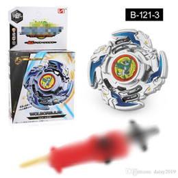 new beyblade sets Australia - New 4D Beyblade Burst B-121 spinning top Booster SuperZ Hazard Kerbeus.7.At Triple Set w  Sword Launcher