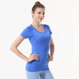 Discount fast drying clothing - Fast Dry T-shirt Sport Yogo Shirt Jogging Leisure Women Designer T shirt Same Style Short Sleeve Shirts Brand Clothing