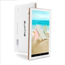 Discount free game android - SUMTAB2+32GB10.1 inch tablet Android 7.0 quad core new game tablet value free shipping best gift