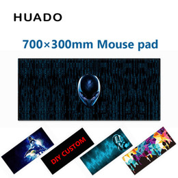 Mouse For Lol Australia - Rubber Gaming Mouse Pad keyboard mat mousepad 700*300mm desk mat for world of tanks  cs go  dota 2  steelseries lol
