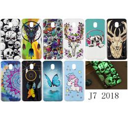 $enCountryForm.capitalKeyWord Australia - For Samsung Galaxy J7 2018 Case Cover Soft TPU Pug Dog Owl Unicorn Deer Flower Butterfly Windbell Glow in Darkness(J7 2018)