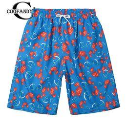 Mesh trunks Men online shopping - Men Casual Floral Elastic Waist Pockets Drawstring Beach Summer Shorts Straight Quick Dry Short Swim Trunks with Mesh Lining Pan