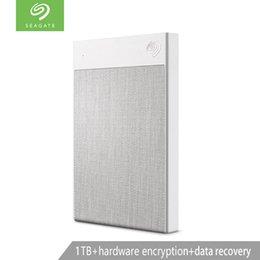 Seagate 1T 2 TB Taşınabilir Harici Sabit Disk Disk donanım şifreleme indirimde