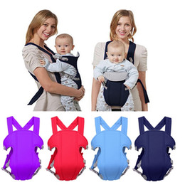 $enCountryForm.capitalKeyWord Australia - Baby Carrier Comfortable Sling Backpack Breathable Baby Waist Stool Solid Infant Slings Seats Outdoor Toddler Gear 6 Colors 30pcs YW4155