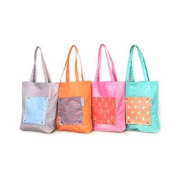 $enCountryForm.capitalKeyWord Australia - Hot Sale 2019 New Foldable Portable Reusable Tote Pouch Recycle Storage Handbag Handy Shopping Bag