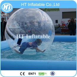 $enCountryForm.capitalKeyWord Australia - Inflatable Water Toys, 2M Diameter Inflatable Water Zorb Ball For Pool Human Hamster Zorb Water Walking Balls
