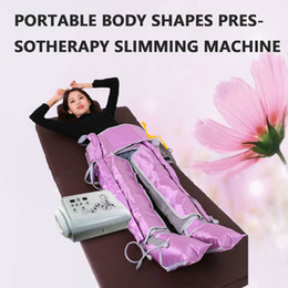 Wholesale New arrival Air Pressure Slimming Machine Pressotherapy cellulite reduction Muscles Massage Lymphatic drainage weight loss Body shaping