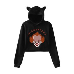 hottest clothing for women Australia - 2D-it-chapter2 New Clothes 2019 Hot Sale print Cat Hoodies for Women summer Hoodies Sweatshirt Sexy K-pop cat hooded Harajuku
