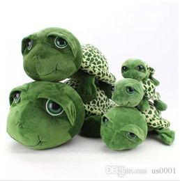 $enCountryForm.capitalKeyWord Australia - Big Eyes Green Turtle Plush Toys Cartoon Anime Small Turtle Stuffed Animals Toy Dolls Kids Birthday Christmas Gifts