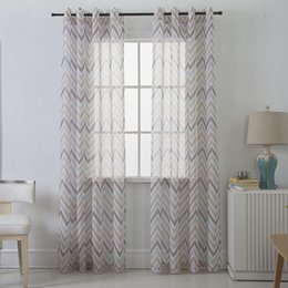 $enCountryForm.capitalKeyWord Australia - Jarl home Sheer Curtains 2 Panels, Water Ripple Curtains for Living Room Polyester Curtain Panels for Kids Room