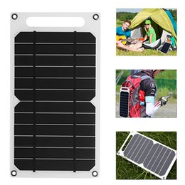 Cell Phone Charger Ports Australia - Solar Panel Charger 5 Watt Ultra-Lightweight USB Port Portable Power Paper Shaped Monocrystalline Silicon for Cell Phone Camping