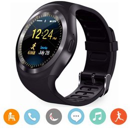 $enCountryForm.capitalKeyWord Australia - Y1 plus android Smart Watch Men Women Smart Watch Kids Smartwatch Android Sim Card Smart Clock Heart Rate monitor
