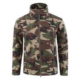 $enCountryForm.capitalKeyWord Australia - Shark Skin V5 Soft Shell Tactical Jacket Men Waterproof Winter Fleece Coat Army Clothes Camouflage Jackets size S-3XL