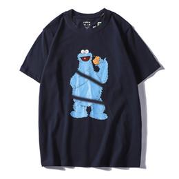 $enCountryForm.capitalKeyWord Australia - 19ss Best selling summer Paris top design men and women cartoon embroidery printing T-shirt best couple 100% cotton quality m~xxl