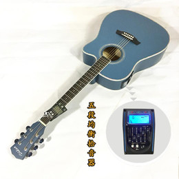 basswood acoustic guitar brand 2019 - 41 inch folk acoustic guitar electric box EQ Basswood mid-range missing matte beginner guitar free shipping