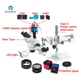$enCountryForm.capitalKeyWord Australia - PHONEFIX 3.5-90X Professional Stereo Zoom Microscope 14 16 20MP HDMI Camera For Mobile Phone IC Chips Motherboard Repair Tools