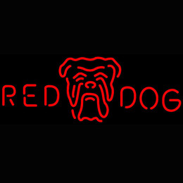 Wholesale neon dog signs for sale - Group buy Shop Flashing Battery Operated Mercury Lamp Tube Red Dog Head Logo Neon Sign With Factory Price