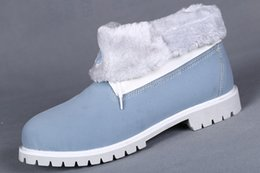 $enCountryForm.capitalKeyWord Australia - AUTHENTIC CUSTOM ROLL TOP SNOW BOOTS IN LIGHT BLUE FOR MEN CHEAP FOLD DOWN WITH FUR BOOT MENS ON SALE WORK HIKING SHOES OUTLET SHIPPED FREE