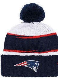 7fba8fe60d7944 Top Selling New England beanie NE beanie Sideline Cold Weather Reverse Sport  Cuffed Knit Hat with Pom Winer Skull Caps 01