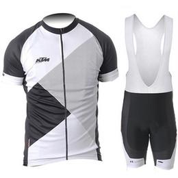 $enCountryForm.capitalKeyWord Australia - 2019 KTM 9D gal pad short sleeve cycling jersey (bib) shorts Outdoor sports Biking Clothes Running Shirt bike wear